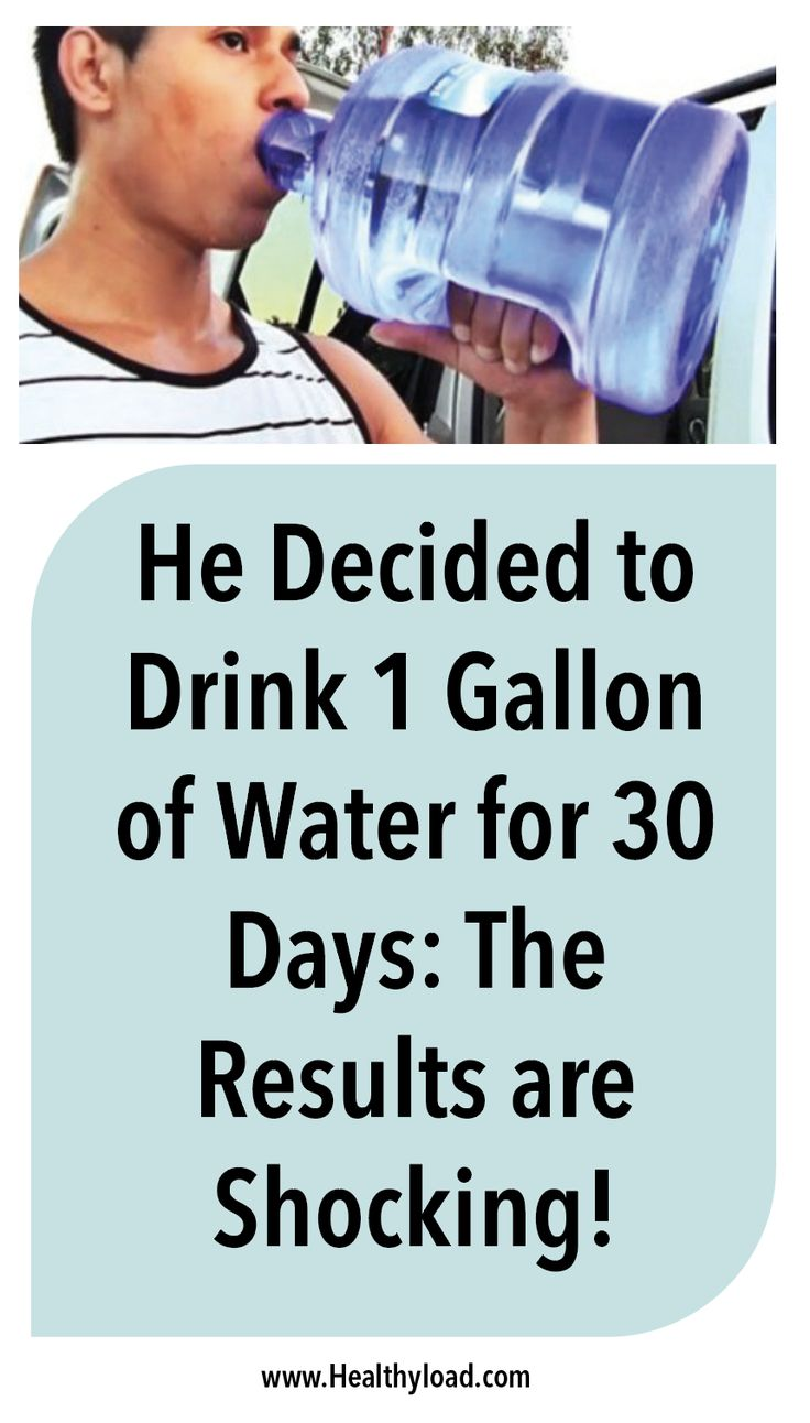 """Have you ever thought about what would happen if you drank 1 gallon of water every day for a month? One journalist from the """"Thrillist"""" portal decided to conduct a weird experiment and see what would happen if he drank 1 gallon of water every day. One month later he documented his story and confessed …"""