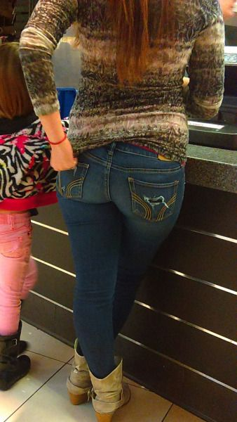Tight ass in jeans pics