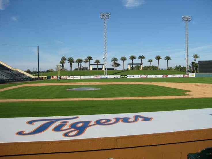 "Visited the Joker Marchant Stadium, ""Tiger Town,"" Lakeland, FL. Spring training home of the Detroit Tigers baseball team."