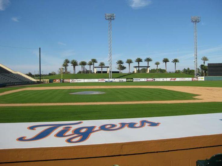 "Visited the Joker Marchant Stadium, ""Tiger Town,"" Lakeland, FL. Spring training home of the Detroit Tigers baseball team."