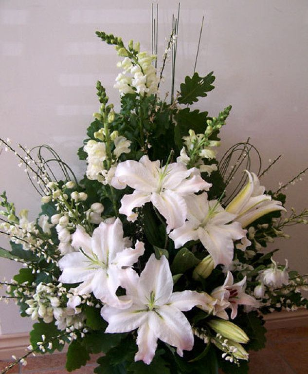 Flower Arrangement For Church Pulpit: 10 Best Stage Or Podium Flower Ideas Images On Pinterest