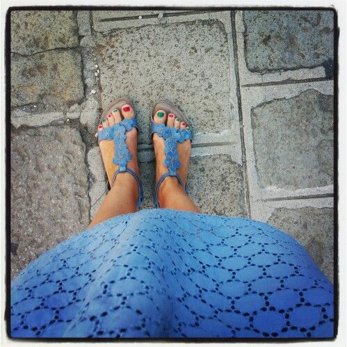 Lilimill Shoes with Lazzari dress