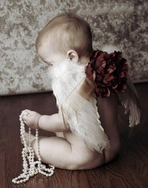 Angel Wings: Photos Ideas, Angel Wings, Christmas Angel, Baby Angel, Christmas Dresses, Vintage Baby, Angel Baby, Baby Shower Gifts, Photos Props