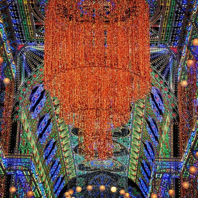 Cartoline dal Salento : Luminarie Festa di San Giacomo e San Filippo - Diso