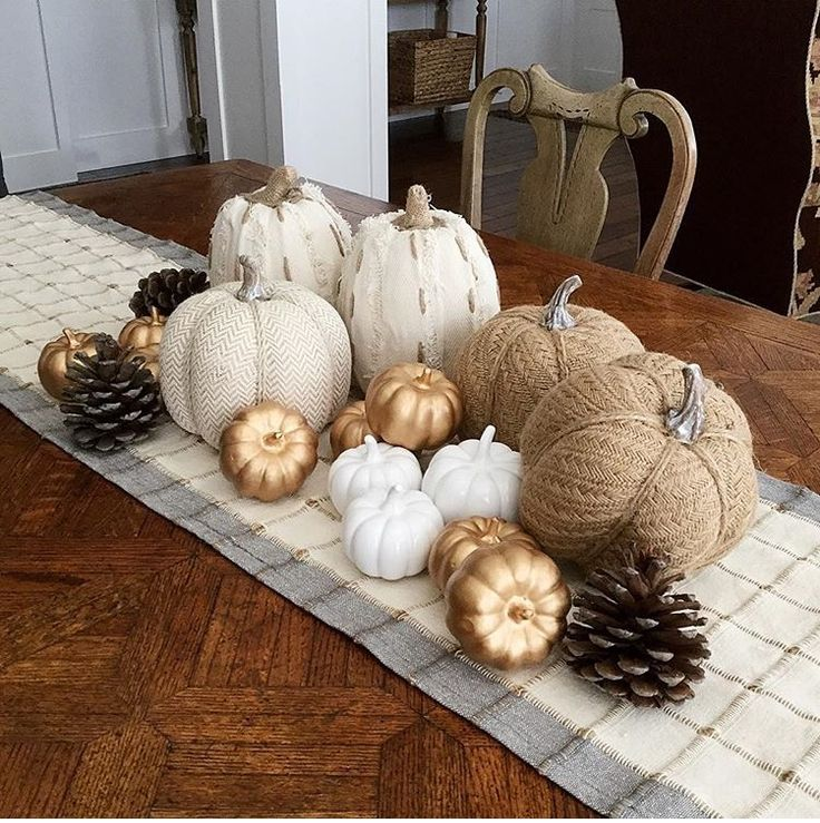 Comfort and Warmth are the feelings this Fall Centerpiece emit....
