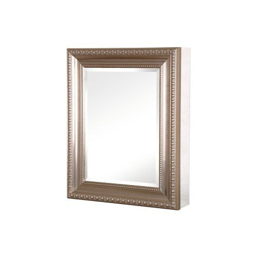 Bought This Pegasus Sp4596 Deco 30 Inch High By 24 Inch Wide Framed Medicine Cabinet Brushed