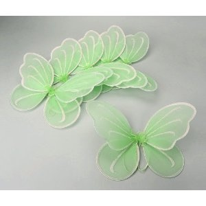 6pcs Set Tinkerbell Fairy Wings for Tinkerbell Party Favor