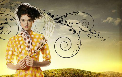 Fashion Photography: Glamorous Magazine Editorials with Graphic Design