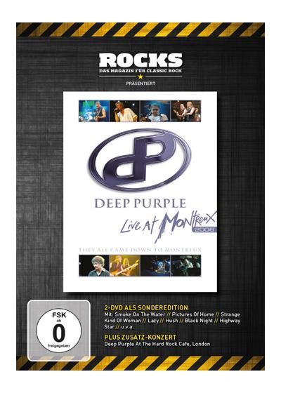 "DVD dei #DeepPurple intitolato ""Live at Montreux 2006 (Rocks Edition)""."