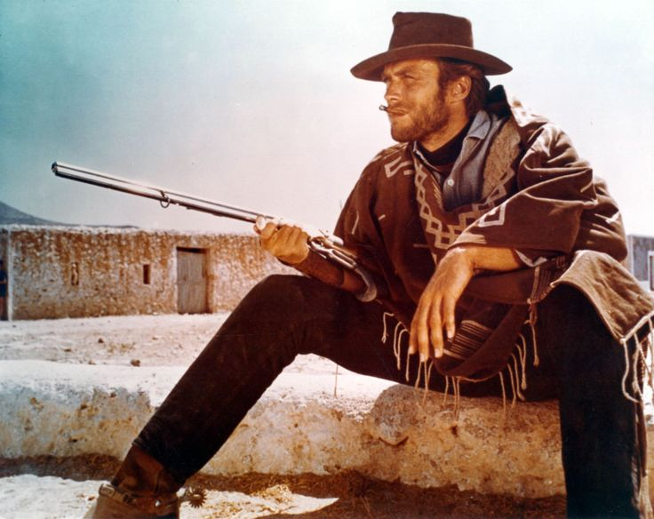 """By the end of the '60s, Clint Eastwood became a bona fide Western star after landing the leads in """"A Fistful of Dollars"""" (pictured), """"For a Few Dollars More"""" and """"The Good, the Bad, and the Ugly."""""""
