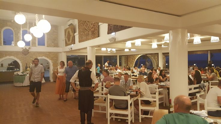 Greek night at the restaurant of Epsilon Ammades Hotel!