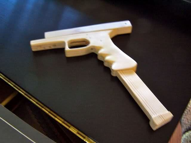 Re:Wooden Glock 18 Rubberband Gun (with pictures) - Evike.com Forum