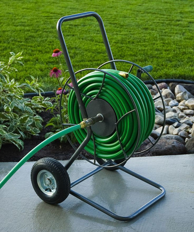 Garden Hose Storage Ideas inexpensive garden hose hook Look At This Wheeled Hose Truck On Zulily Today Garden Hose Storagecontemporary