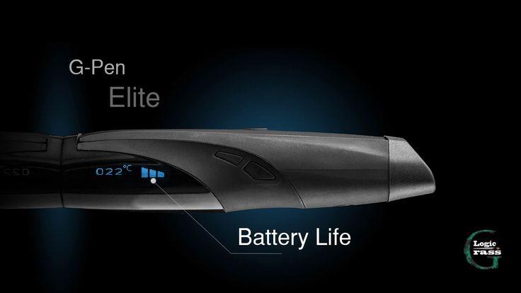 The G pen Elite vaporizer review battery
