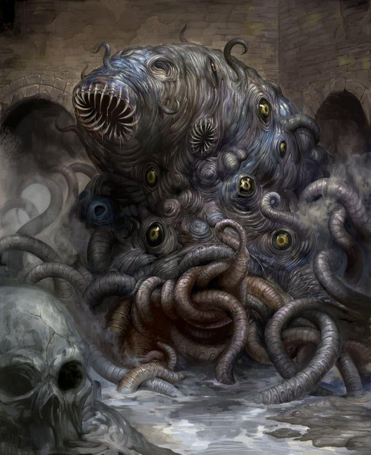 Shoggoth by douzen.deviantart.com on @deviantART