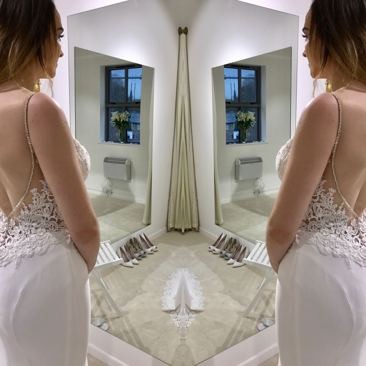 Juri by Blue by Enzoani in zadika bridal fitting room