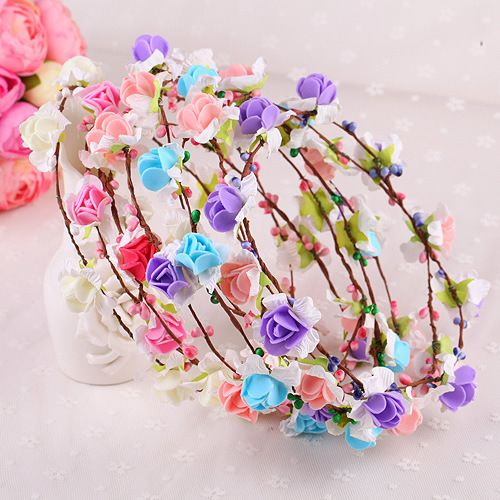 >> Click to Buy << Fashion Flower Headband Women Girl for Hair Accessories Wholesale  Headwear 2017 Hot HairBands Random Color Send #Affiliate