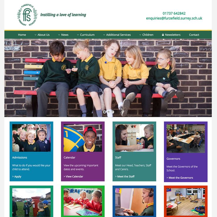 http://www.furzefield.surrey.sch.uk  - We've just launched the new Furzefield Primary & Nursery School website. #webdesign #Merstham #Surrey