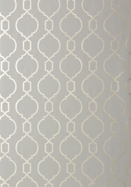 Master Bedroom Feature Wall - NISIDO BEAD, Charcoal, T11021, Collection Geometric Resource 2 from Thibaut