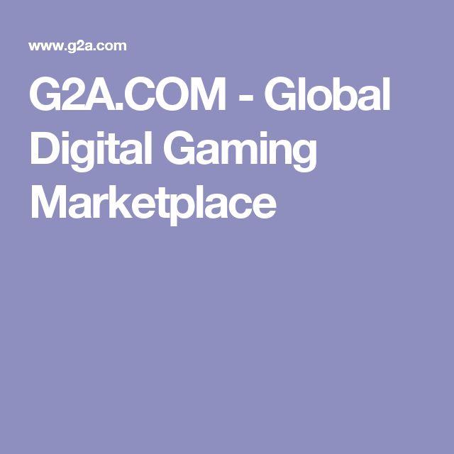 G2A.COM - Global Digital Gaming Marketplace
