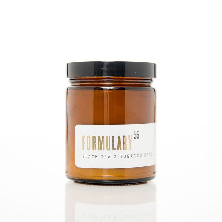 Black Tea & Tobacco. Shop now at The Candle Library. Formulary 55 candles are hand lured in the US using 100% natural vegetable wax.