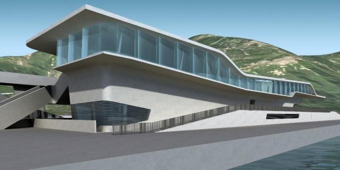 Zaha Hadid - Project - Salerno Maritime Terminal