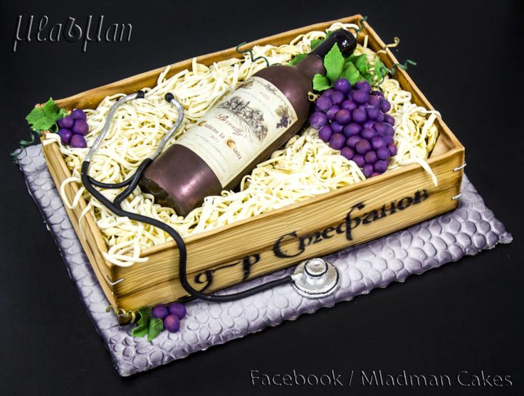 Bottle+Wine+Cake+-+Cake+by+MLADMAN