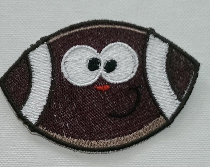 Machine Embroidered Iron On Heart Shaped Basketball Patch/ applique  Like to do it yourself? These cute applique patches are an easy and adorable way to personalize shirts, jeans, bags, Iron onto a shirt for a great boutique look!  Easy application instructions are included with your patch. I add HeatnBond Ultra heat to the back of my designs, For clothing or items to be washed I do recommend you sew around the design with a zig-zag or straight stitch by machine or hand.   Approx 5 high...