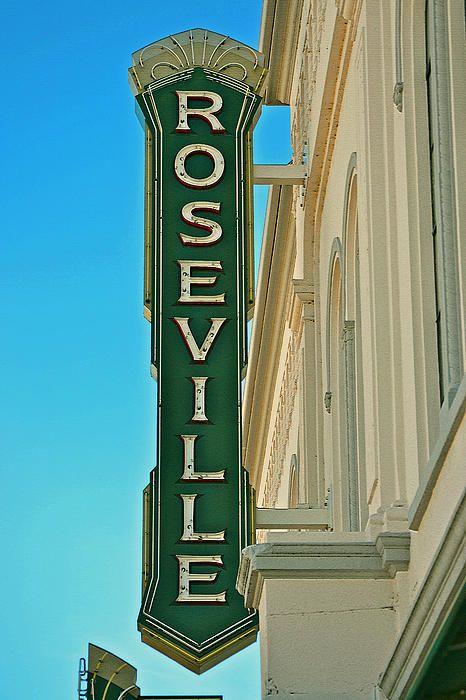 Historic Roseville Californa  photography