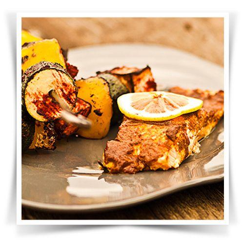 BBQ Salmon Packet #Pataks #Grill #BBQ #Summer #Barbecue #Recipe #IndianFood #India #MixinaLittleIndia #MixinaLittleBBQ