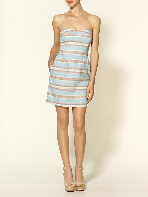 Dolce Vita Luisa Woven Ethnic Stripe Dress | Piperlime $198