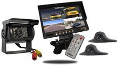 7-Inch Ultimate RV Backup Camera System (3 Cameras)