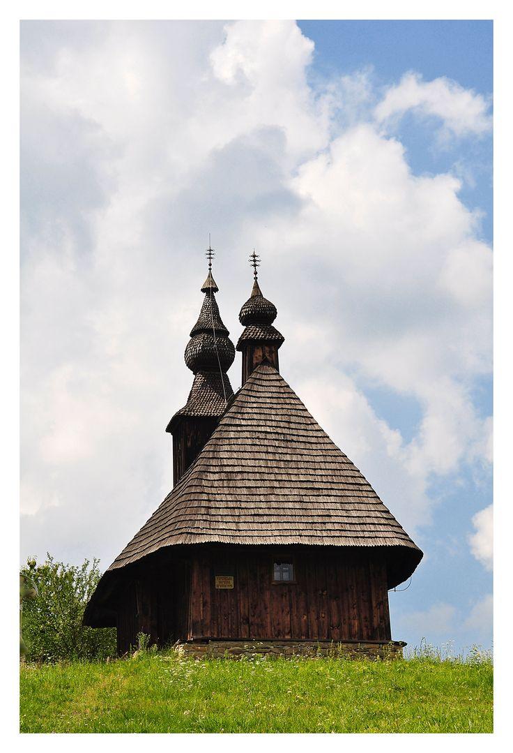 Wooden church Hrabová Roztoka