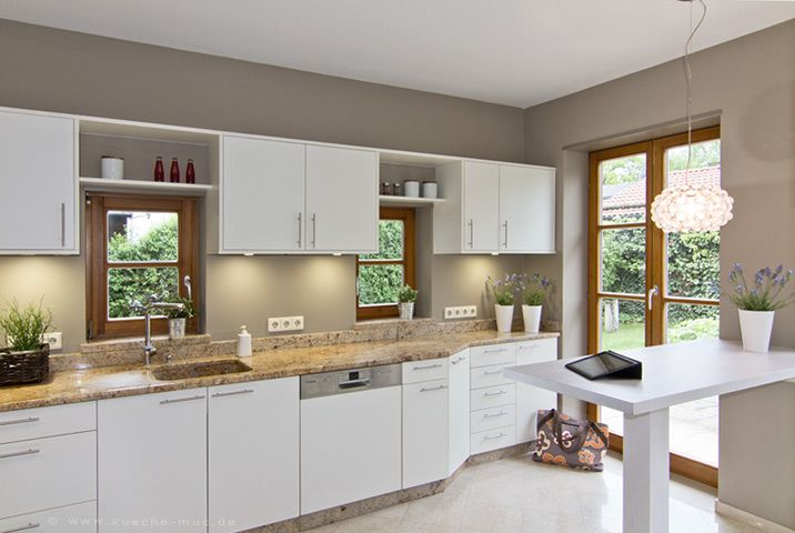 dunkle wandfarbe küche | küche | pinterest | dunkle wandfarbe ... - Welche Farbe Für Die Küche