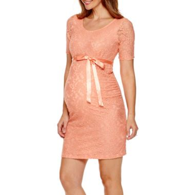 Bow Belt Lace Dresses And Maternity On Pinterest