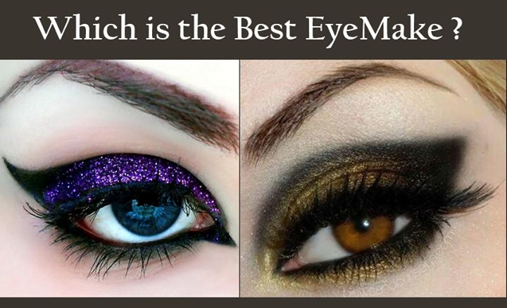 which makeup do u like d most: purple or brown???