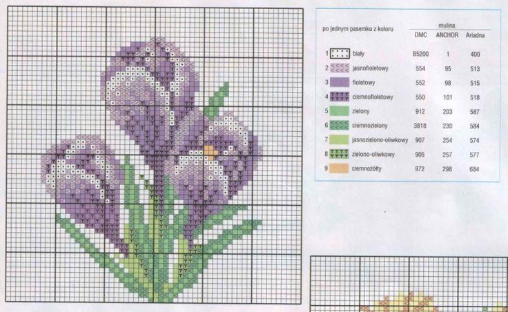 158 best images about fleur flower plante plant point de croix cross stitch on pinterest. Black Bedroom Furniture Sets. Home Design Ideas
