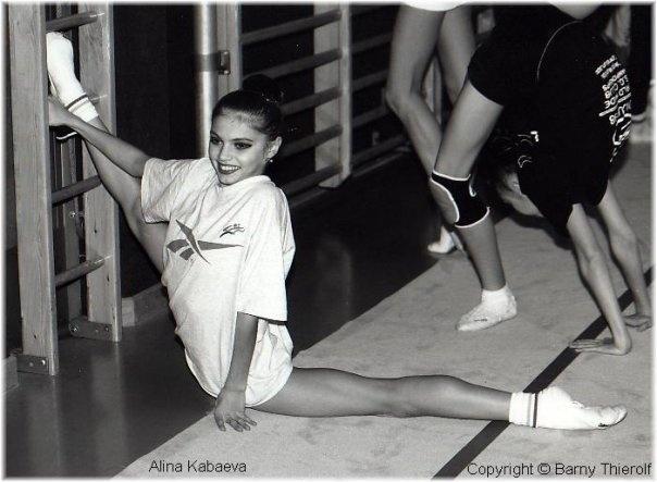 Alina Kabaeva / RUS / splits