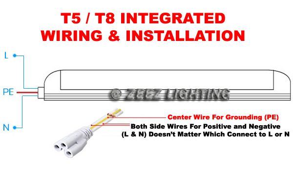 T5 Led Tube Wiring Diagram Led Tubes T5 Led Led