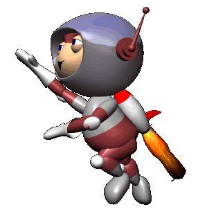 Gif de astronauta