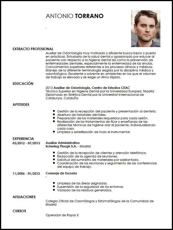 Curriculum Vitae Odontologo Modelo De Curriculum Vitae Dental Hygiene Resume Curriculum Vitae Dental Hygienist Resume