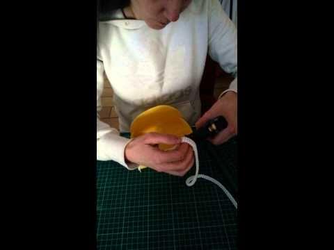 Cestini in feltro tutorial
