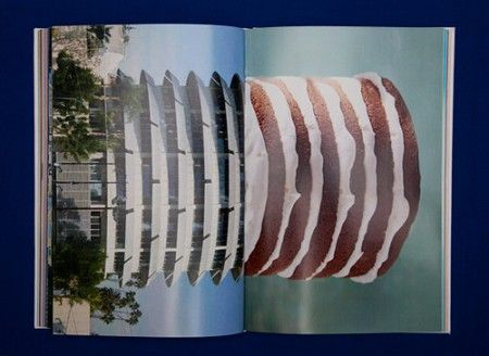 The Fat Club _Combines images of portraits and architecture with photographs of food.