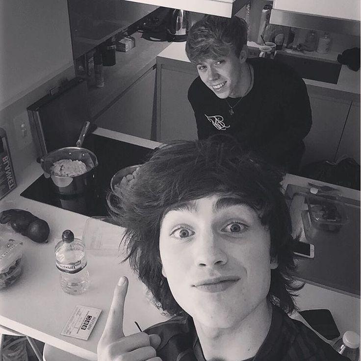 Brendan and Josh