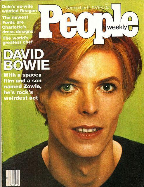 David Bowie, People Magazine, September 6, 1976
