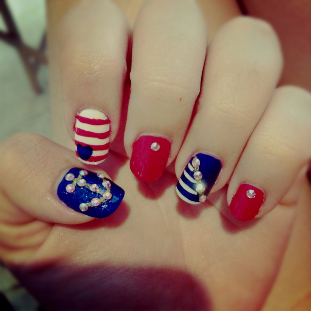 My new nails !!!
