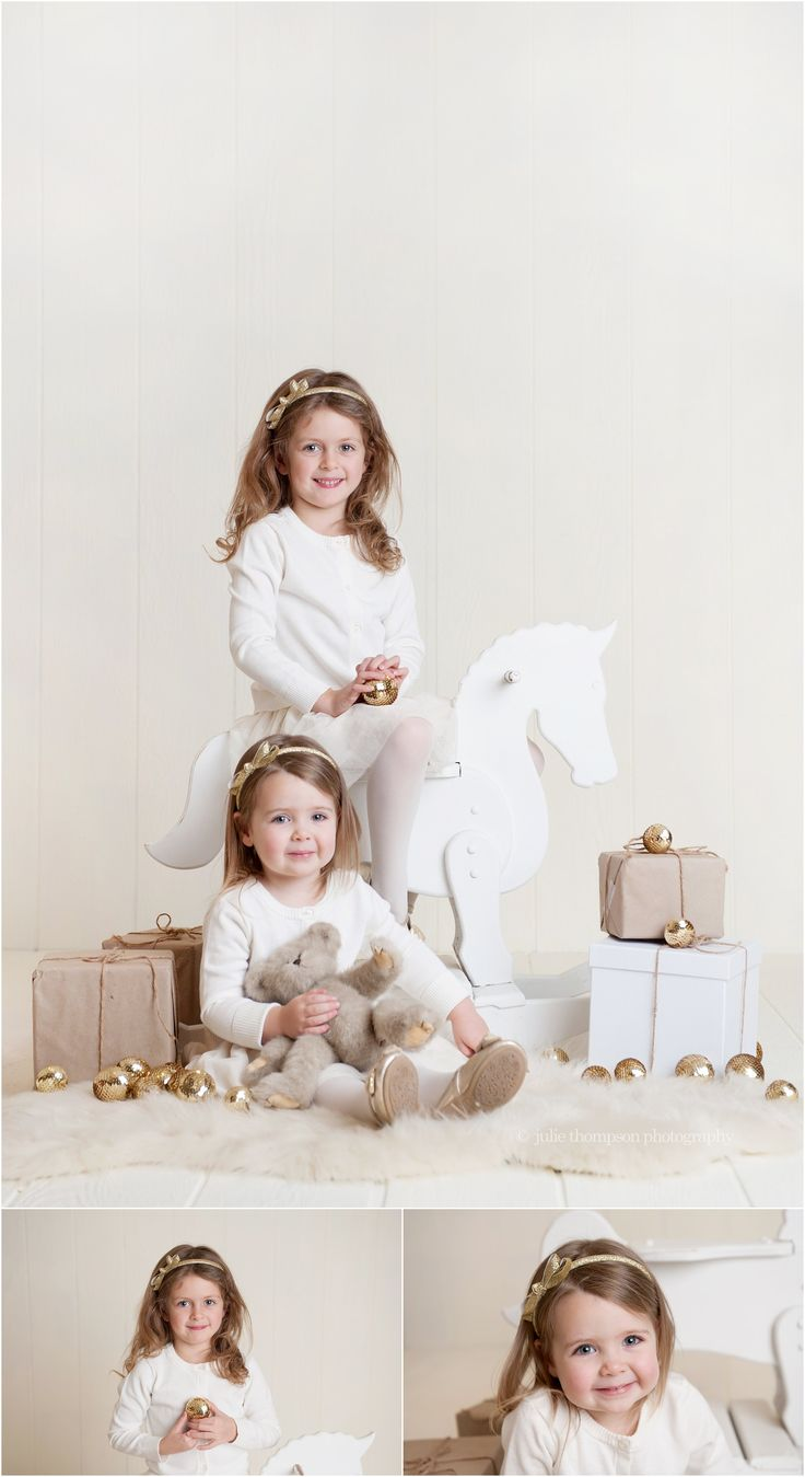 Christmas Session Sisters www.juliethompsonphotography.ca More