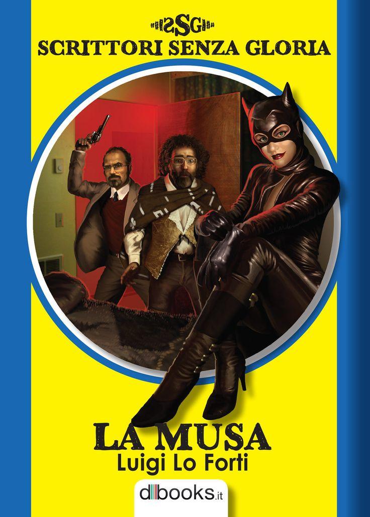 Cover Scrittori Senza Gloria - LA MUSA - by Dessin75.deviantart.com on @DeviantArt
