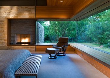 House on White Rock Creek - modern - Bedroom - Dallas - Oglesby Greene Architects