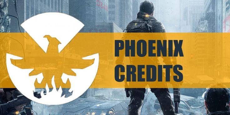 The Division Phoenix Credits